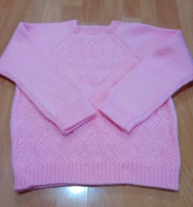 Пуловер на девочку 134-140