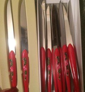 Набор ножей! 10 шт новый!