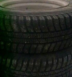 Продаются колеса зимние Amtel,2колеса шипы ,2 лип