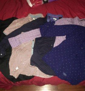 Рубашки мужские S-M