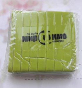 Салатовая полимерная глина 50г