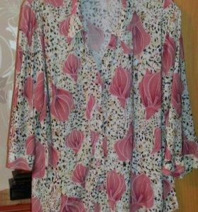 Блузки 56-58 размер