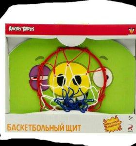 Баскетбольный щит Angry Birds.