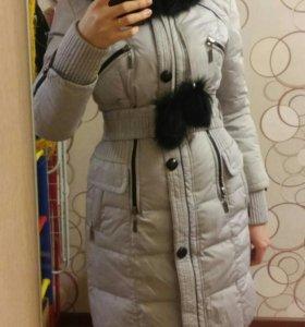 Пуховик женский зимний 44 размер