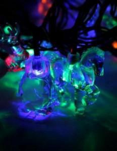 """Гирлянда RGB """"Новогодний микс (елочные игрушки)"""