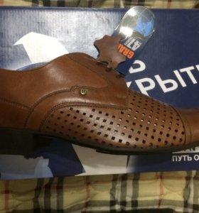 Новые кожаные ботинки Ralf Ringer