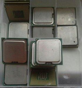 775 socket процессоры в ассортименте. hdd, ram. Бп