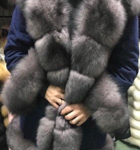 Джинсовые куртки с натуральным мехом. Опт!