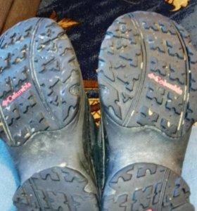 Зимние сапоги 34 размер