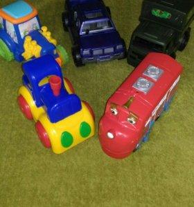 Машины, поезда , Чаггингтон.