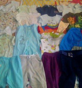 Пакет вещей для мальчика 74-86 размер