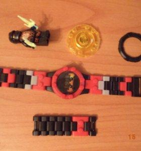 Часы-ниндзяго с фигуркой