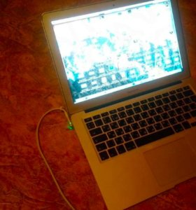 Macbook Air mid 2011 i5 128 ssd 4gb озу