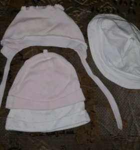 Чепчик для новорожденного
