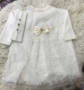 Новое платье 68см