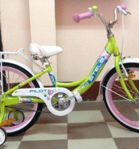 "Велосипед детский Stels Pilot-200 Lady 20"""