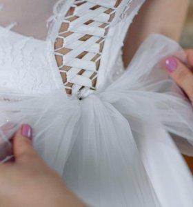 Счастливое свадебное платье! Срочно!