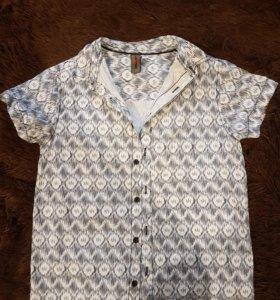 Подростковая рубашка на мальчика