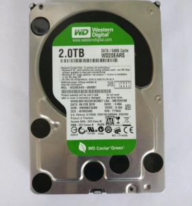 Жесткий диск 2Tb Western Digital Green
