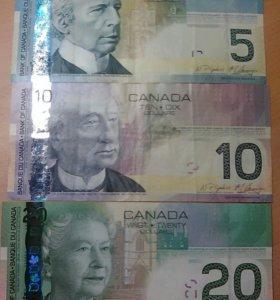 Билеты банка Канады 2004 г.