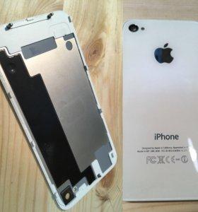 Продаю заднюю крышку IPhone 4s белая.