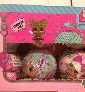 Шарик с куколкой LoL