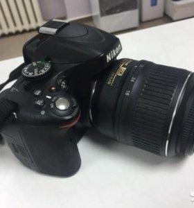 Зеркальный фотоаппарат Nicon D5100