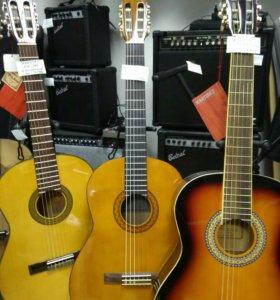 Классические гитары 3/4 4/4 Yamaha Martinez