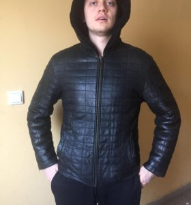 Куртка дубленка зимняя Heimsman collection