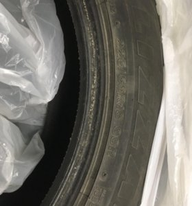 Резина Bridgrstone blizzak 225/55r18 к-т