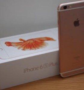 iPhone 6s 64 plus Розовое золото РОСТЕСТ