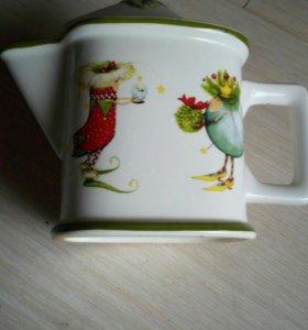 чайник заврной новогодний