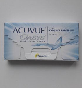 линзы acuvue oasis -1
