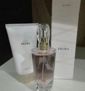 Парфюмерная вода и парфюмированный лосьон для тела