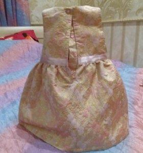 Платье из парчи