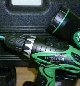 Аккумуляторный шуруповёрт Hitachi DS12DVF3