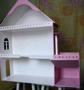 Дом для кукол. Розовый 2000 другой 1000