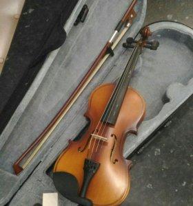 Скрипка 1/8 новая BRAHNER