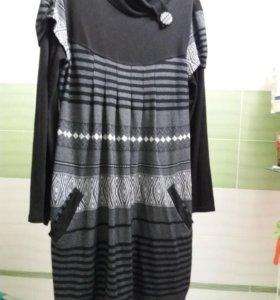Платье можно беременным 46-50