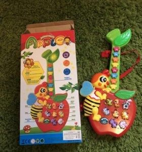 Детская музыкальная игрушка гитара