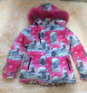 Зимняя куртка,152 рост