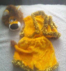 костюмчик льва новый одевали 1раз
