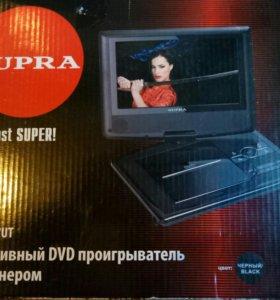 Портативный ДВД проигрователь с ТВ
