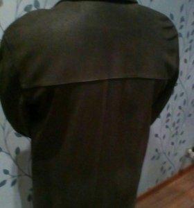 Куртка из бычьей кожи