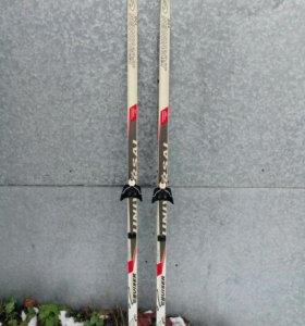 Лыжи детские 170 см.