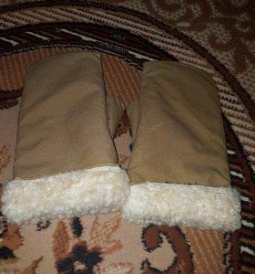 Новые рукавицы теплые (рабочие)
