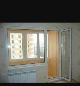 Окна и балконные группы