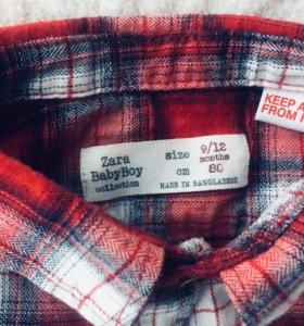 Рубашка/джинсы Zara BabyBoy (р. 80)