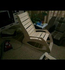 Кресло качалка, ручная работа.