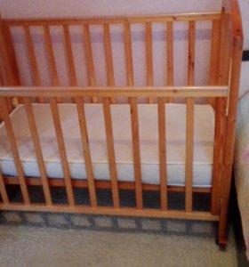 Кроватка детская. Матрас
